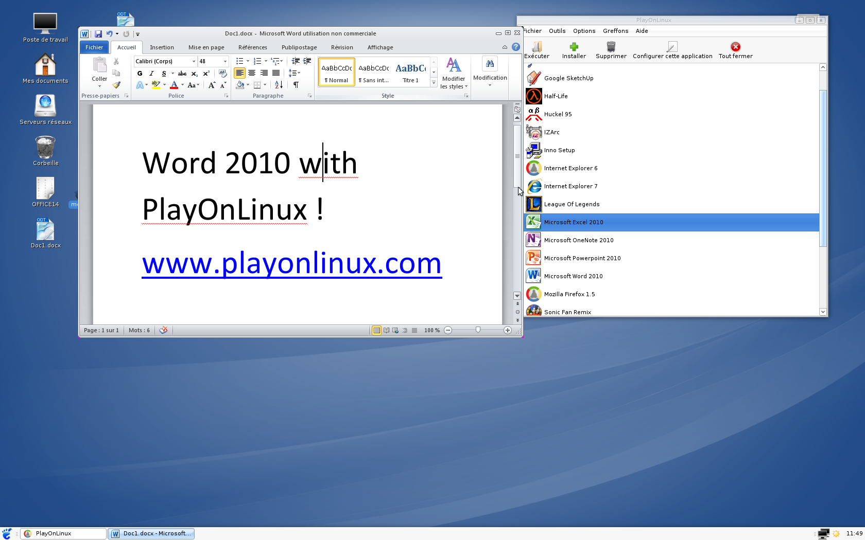 u00a1ya puedes instalar microsoft office 2010 en gnu  linux con