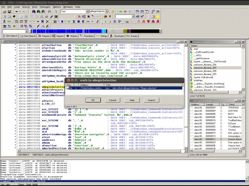 IDA 5 Pro Free - Supported software - PlayOnLinux - Run your